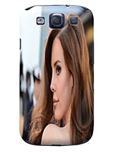 Custom Lightweight Waterproof Lovely Lana Del Rey fashionable TPU Phone Protector Cover for Samsung Galaxy s3