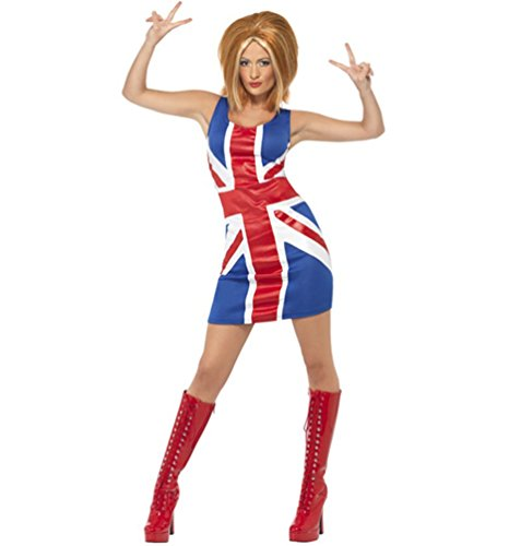 Spice Power Adult Costume Ginger Spice - Large ()