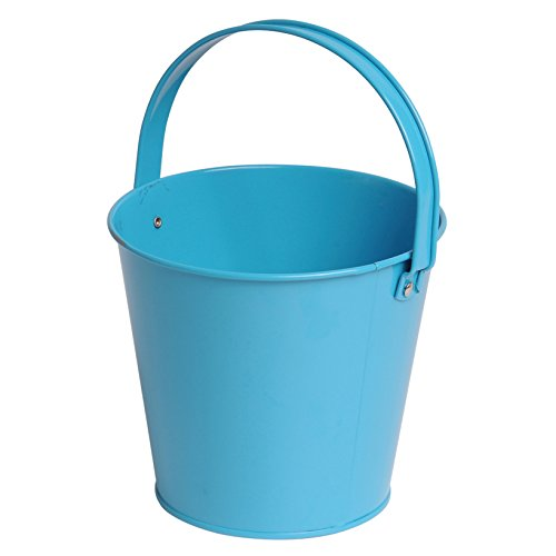 U.S. Toy Metal Bucket - Turquoise -
