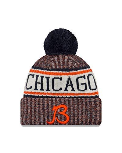 (New Era Chicago Bears On Field 2018 Throwback Logo Sport Knit)