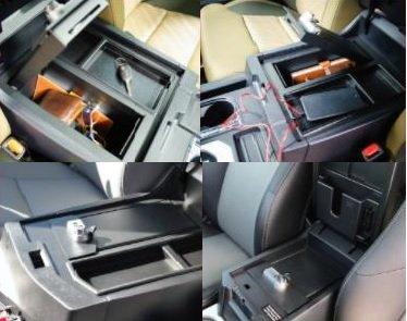 GENUINE TOYOTA TUNDRA GUN SAFE FOR CENTER CONSOLE 00016-34174