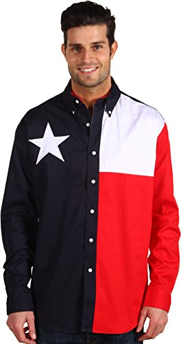 Roper Texas Shirt Navy 2XL