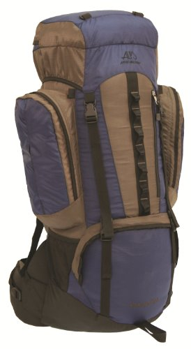 ALPS Mountaineering Cascade 5200 Nylon Ripstop Top Internal Frame Pack, Blue, Outdoor Stuffs