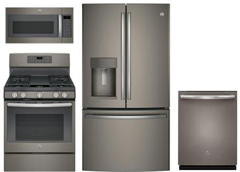 Amazon Ge 4 Piece Package With Gfe28gmkes 36 French Door