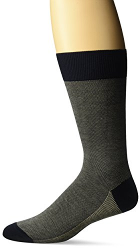 Zanella Socks Men's Z9012, Navy/Khaki, 10-13