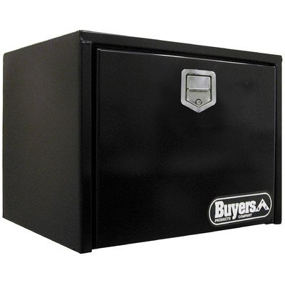 Buyers Products 1702100 Toolbox (18X18X24, SST Rotary Paddle, Black)