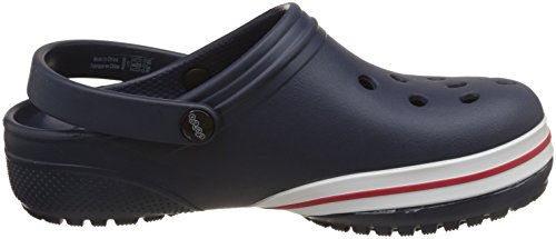 crocs Neu Unisex Kinder Jibbitz Bequeme Passform Pantoffeln Sandalen - Marineblau - UK Größen 1-13