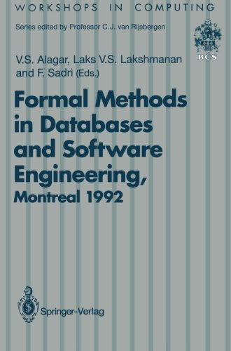 Formal Methods in Databases and Software Engineering: Proceedings of the Workshop on Formal Methods in Databases and Sof