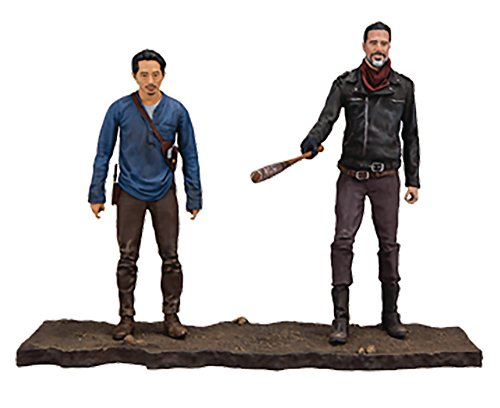 Mcfarlane Toys The Walking Dead Negan   Glenn Deluxe Box Set