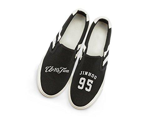 Fanstown Up10tion Kpop Sneakers Skor Fanshion Konvergensnivån Hiphop Stil Fläkt Stöd Med Lomo Kort Jinhoo