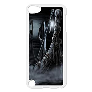 James-Bagg Phone case skull art pattern protective case FOR Ipod Touch 5 FHYY462876