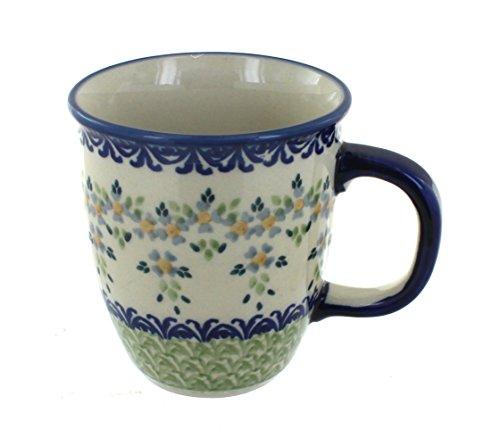 polish-pottery-summer-vines-coffee-mug