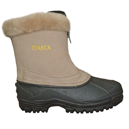 Womens Boots Itasca (Itasca Women's Tahoe Suede Winter Snow Boot, Sand, 8 D US)