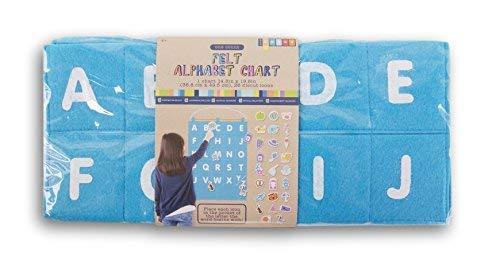- Children's Felt Alphabet Matching Chart for Pre-K
