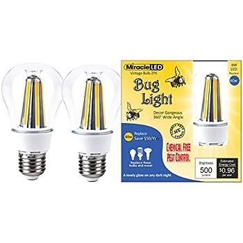Miracle Led 604734 7 Watt Super Bug Light Bug Free Porch