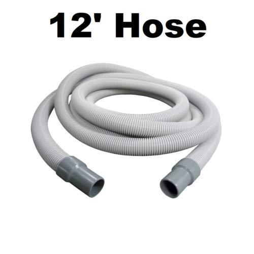 New Vacuum Pars Vacuum Hose 1 1/2'' x 12' Foot for Milwaukee 49-90-0060