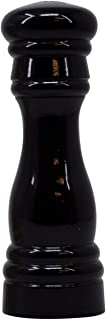 product image for Fletchers' Mill Federal Pepper Shaker, Black, 6 Inch, Adjustable Coarseness Fine to Coarse, MADE IN U.S.A.