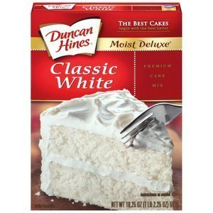 (Duncan Hines, Classic White Cake Mix, 16.50oz Box (Pack of 2))