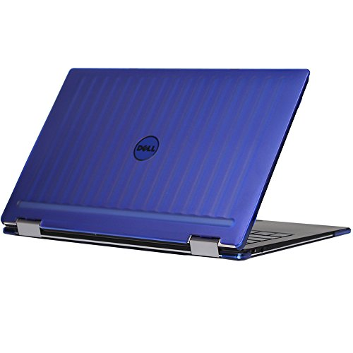 mCover iPearl Hard Shell Case for 13.3 Dell XPS 13 9365 2-in-1 Models (not Fitting Non 2-in-1 XPS 13 Models) Convertible Laptop 2-in-1 9365 - Blue