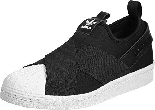 adidas Superstar Slip on Herren Sneaker Schwarz Negro