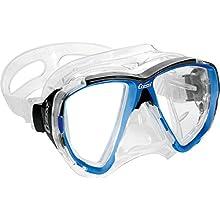 Cressi Big Eyes Evolution Crystal Mask - Blue/Black