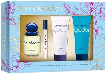 DON ALGODÓN Colonia 100Vapo+Gel75+Body 75+Vial10+Deo150(EST ...