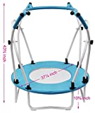Mini Trampoline Rebounder with safety bar