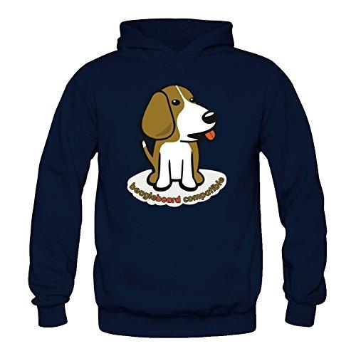 Tommery Women's Beagle Board Compatible Long Sleeve Sweatshirts Hoodie