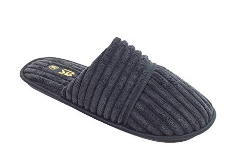 Nuove Pantofole Da Uomo In Camoscio Con Logo Effetto Stella Di Starbay Disponibili In 7 Colori Nero