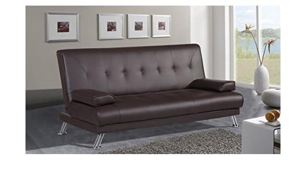 MUEBLES MATO - Sofa Cama Eddy Color Negro: Amazon.es: Hogar