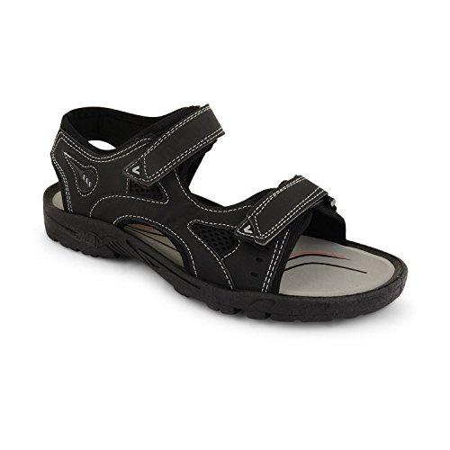 Sensation marrone Nigel Sandali uomo nero Footwear Marrone Nero ORqxB
