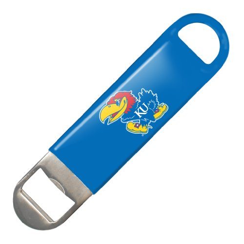 NCAA Kansas Jayhawks Vinyl Covered Long Neck Bottle (Ncaa Bottle Opener)