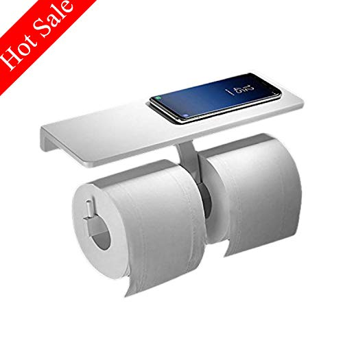 - Paper Towel Holder,White Wall Mount Kitchen Bath Paper Roll Holder,Bathroom Accessories,Aluminum,Beelee