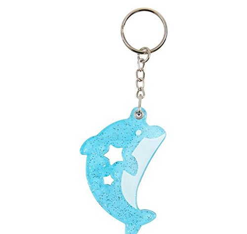 2.25'' DOLPHIN WITH MIRROR KEYCHAIN, Case of 288