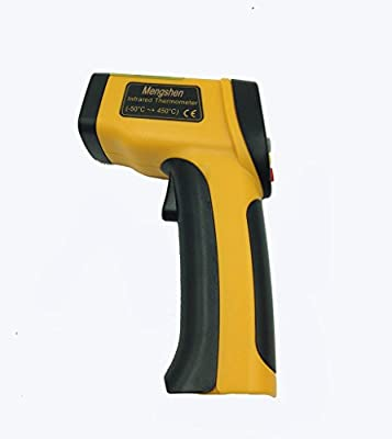 Mengshen® High Precision Non-contact IR Digital Infrared Thermometer Temperature Gun Tester Pyrometer Laser Point MS-M81P