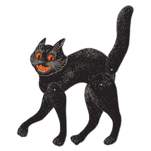 Beistle Jointed Scratch Cat, 20-1/2-Inch ()