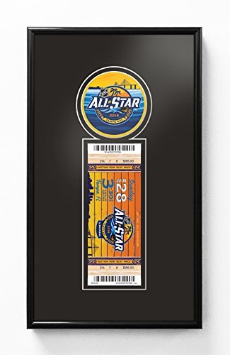 2018 NHL All-Star Game Single Ticket Frame - Tampa Bay Lightning (2018 All Star Game Tickets)