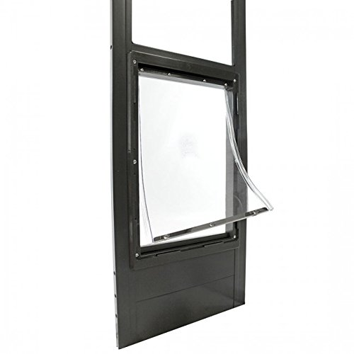 Large Bronze Pet Patio - Ideal Pet Products Super Large Fast Fit Patio Door-Bronze Finish 77 5/8-80 3/8