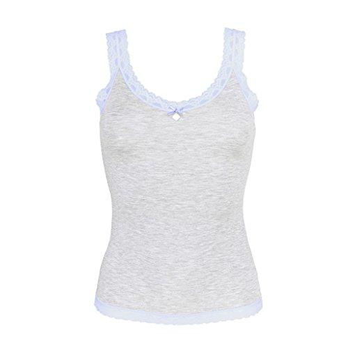Like It - Shirt Top - Silverstar - Damen-Unterhemd - Modal - in verschiedenen Farben Paleblue 94HrPvry9Z
