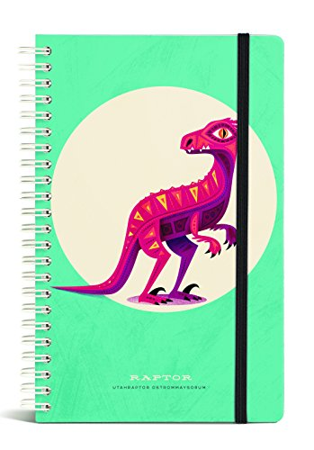 Gift Trenz Franklin Mill Raptor Wire Notebook, Ruled (1002)