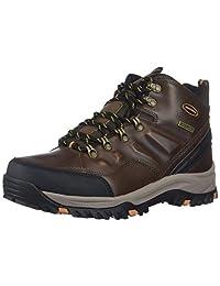 Skechers Men's RELMENT- TRAVEN Hiking Boot, dkbr