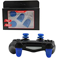 1 set Analog Extenders thumbtick Grips Enhanced Thumb Stick Caps L2 R2 Trigger Extended Button for Playstation 4 PS4 Controller