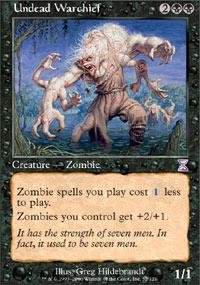 Magic: the Gathering - Undead Warchief - Timeshifted - Foil