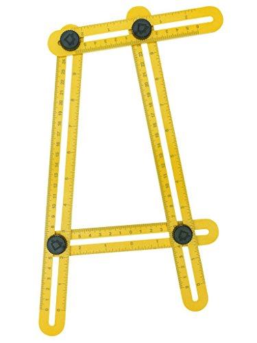 [해외]CAVN 앵글 라이저 템플릿 도구 각도 측정 눈금자 측정 모든 각도 및 형태 완벽한 각도 - izer 각도 템플릿 도구, 의사, 빌더, Craf/CAVN Angleizer Template Tool Angle Measu