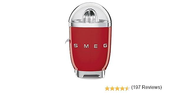 SMEG Exprimidor CJF01RDEU, 70 W, Acero Inoxidable, rojo: Amazon.es ...