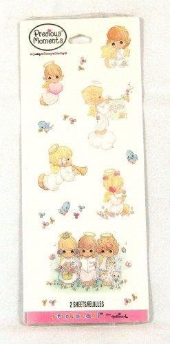 Precious Moments 2 Sticker Sheets By Hallmark Stickeroni