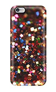 New Arrival Case Cover With VWBtoXe1739cJQam Design For Iphone 6 Plus- Glittery Reddish Sparkles