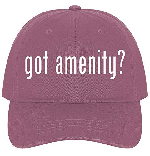 The Town Butler got Amenity? - A Nice Comfortable Adjustable Dad Hat Cap, Pink, One Size
