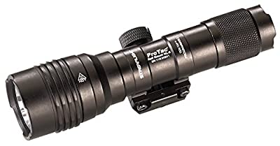 Streamlight 88066 Pro Tac Rail Mount HL-X, 1,000 Lumen Professional Tactical Flashlight with High/Low/Strobe Dual Fuel use 2X CR 123A or 1 x 18650 Batteries - 1000 Lumens