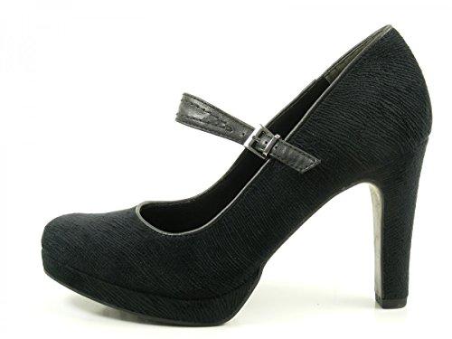 Tamaris 1-24408-29 zapatos de tacón alto para mujer Schwarz